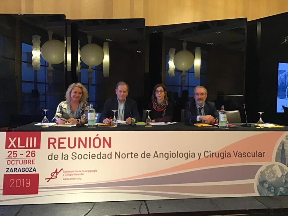 XLIII Reunión de la Sociedad Norte de Angiología y Cirugía Vascular